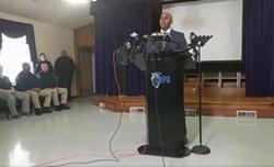 CMPD Chief Kerr Putney speaks at Friday's press briefing.
