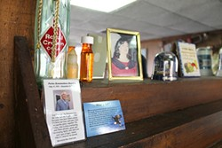 Mementos throughout the deli pay tribute to founder, father and former owner Pavlos Drosinis.
