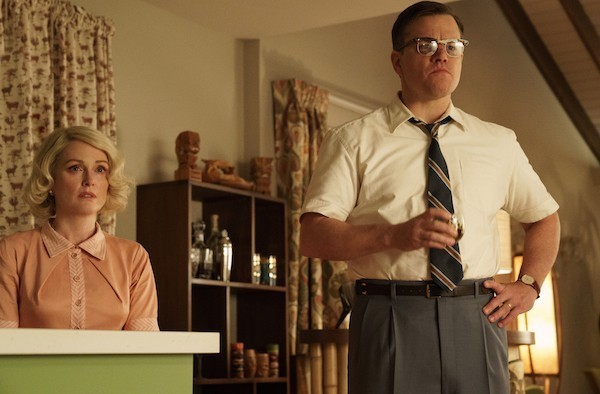 Julianne Moore and Matt Damon in Suburbicon (Photo: Paramount)