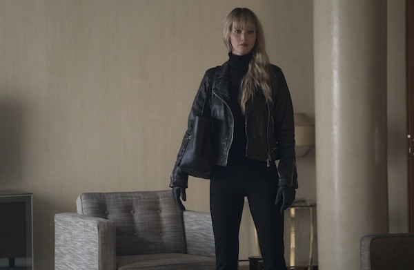 Jennifer Lawrence in Red Sparrow (Photo: Fox)