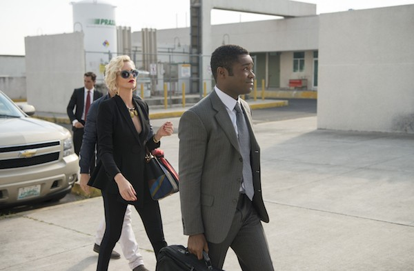 Charlize Theron and David Oyelowo in Gringo (Photo: STX)