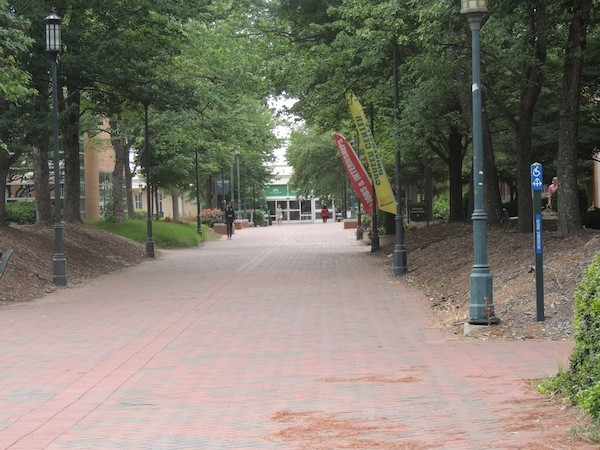 UNC Charlotte campus (Photo by Ryan Pitkin)