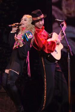Kolpakov had Madonna's back.  (Photo courtesy of Vadim Kolpakov)