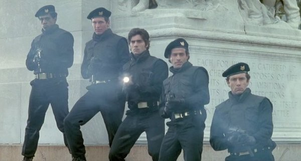 Ken Wahl (center) in The Soldier (Photo: Kino & MGM)