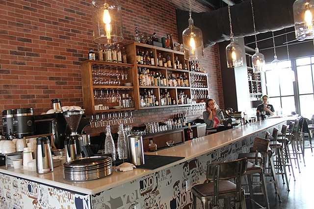 The new bar at littleSpoon serves up fresh-squeezed concoctions.