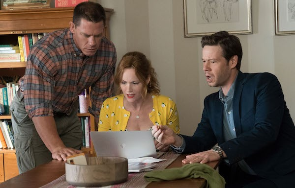 Jon Cena, Leslie Mann and Ike Barinholtz in Blockers (Photo: Universal)