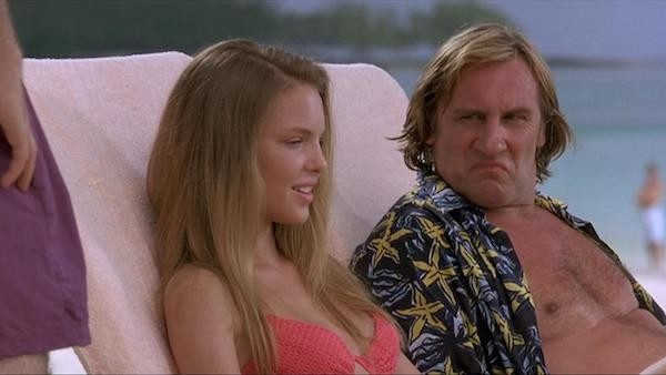 Katherine Heigl and Gerard Depardieu in My Father the Hero (Photo: Kino)