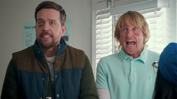 Ed Helms and Owen Wilson in Father Figures (Photo: Warner)