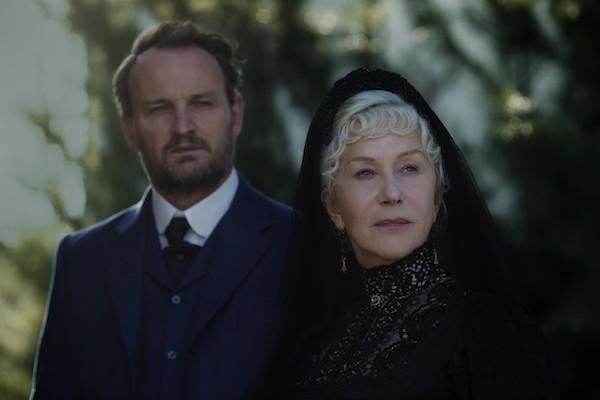 Jason Clarke and Helen Mirren in Winchester (Photo: Lionsgate)