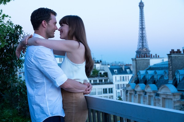 Jamie Dornan and Dakota Johnson in Fifty Shades Freed (Photo: Universal)