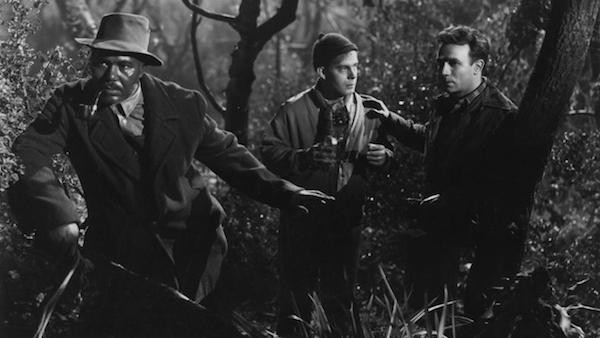 Rex Ingram, Harry Morgan and Dane Clark in Moonrise (Photo: Criterion)