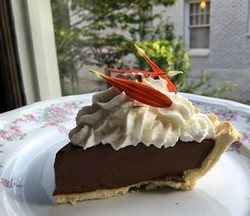 Chocolate cream pie.