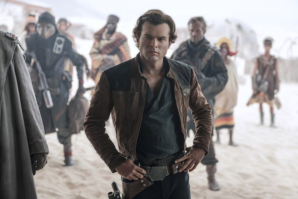 Alden Ehrenreich in Solo: A Star Wars Story (Photo: Lucasfilm & Disney)