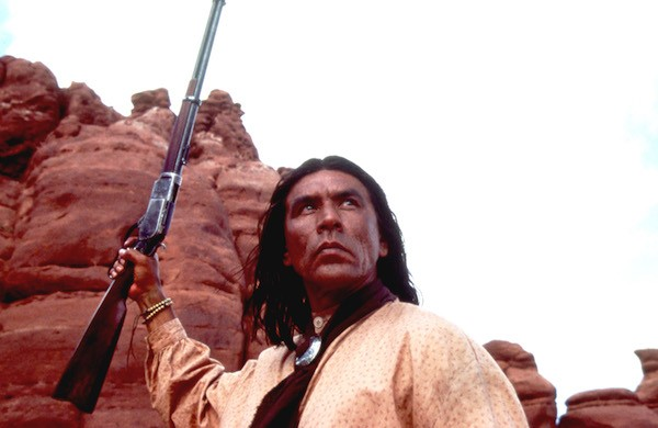 Wes Studi in Geronimo: An American Legend (Photo: Twilight Time)