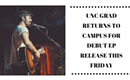 Chapel Hill, NC | Christian singer-songwriter Jervis Campbell will return to his Alma Mater for his Debut EP Release of 'GLORY'