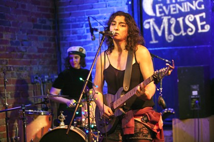 Lara America and Radio Lola at the Evening Muse, 2/15/2017