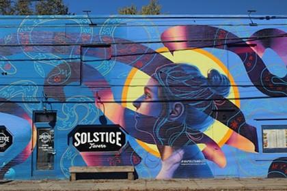 Blue Line Art Tour
