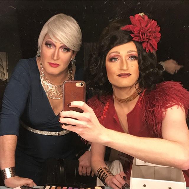 Robyn O'Ladies and Charlotte Douglas.