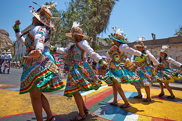 Peruvian dancers (Photo by Jeremy Richards)