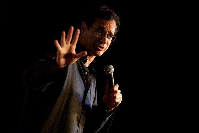 Bob Saget performs stand up comedy as a long-time career path after Full House. . (Photo Courtesy of Bob Saget)