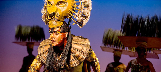 The Lion King Musical. (Photo by Matthew Murphy)