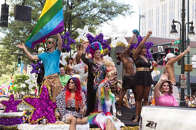 Charlotte Pride (Photo by Jennifer L. Hogan)