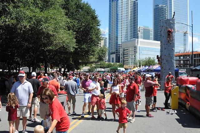 Belk College Kickoff Fan Fest (Photo Courtesy of College Sports Foundation)