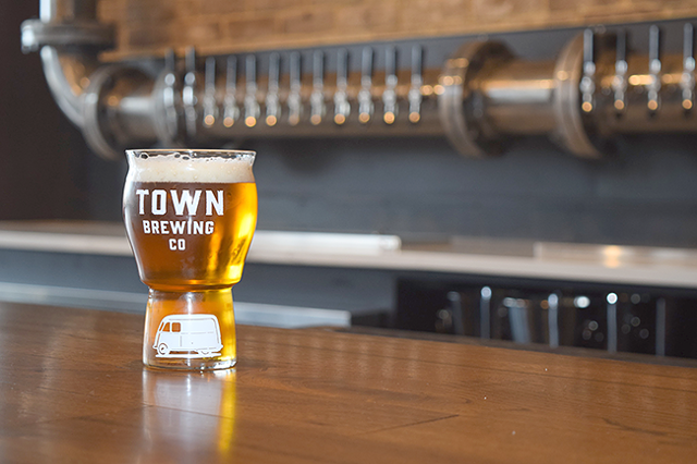 (Photo Courtesy of Town Brewing Co.)