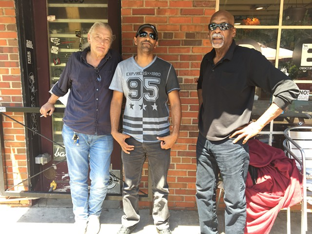 Core original Monday Night Allstars: Jim Brock (from left), Joe Lindsay and Rick Blackwell (Photo by Mark Kemp)