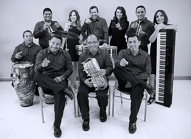 Orquesta Mayor will release their new album at Ritmo y Sabor on Saturday.