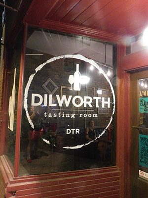 Dillworth Tasting Room.