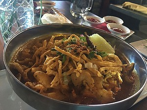 Noodle dish from Rai Lay (Critics' Best Twist on Thai)