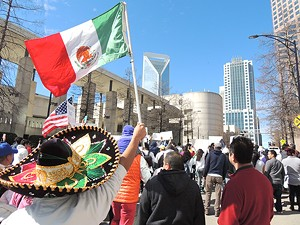 A Day Without Immigrants. (Photo by Jasmin Herrera)