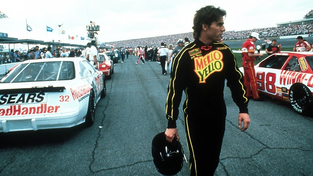 Tom Cruise in Days of Thunder (Paramount)