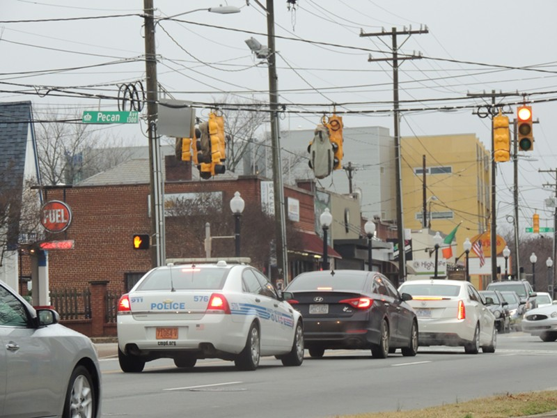 CMPD increased patrols in Plaza Midwood in january after a string of high-profile crimes.