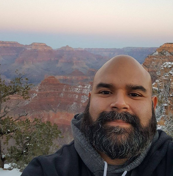 The Arizona native visited the Grand Canyon for the first time last year.