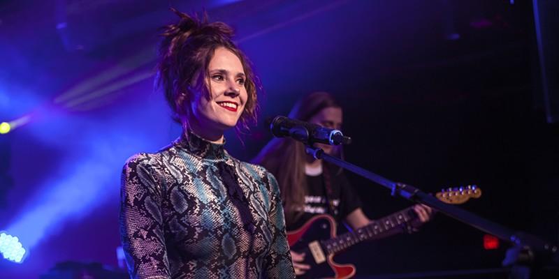 Kate Nash's energetic pop lights up The Underground