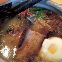 Futo Buta Ramen House's tonkotsu ramen. (Photo credit: Tricia Childress)