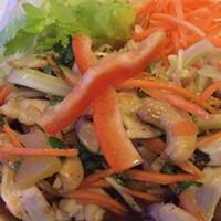 Thai Sushi 101's lettuce wrap.
