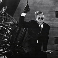 Peter Sellers in Dr. Strangelove, Or: How I Learned to Stop Worrying and Love the Bomb (Photo: Criterion)