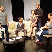 Three Bone Theatre's Seminar sets up shop in Spirit Square