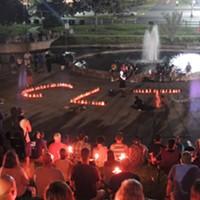 Slideshow: Hundreds Rally at Marshall Park Against White Supremacy