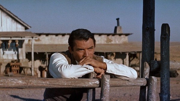 Gregory Peck in The Big Country (Photo: Kino & MGM)