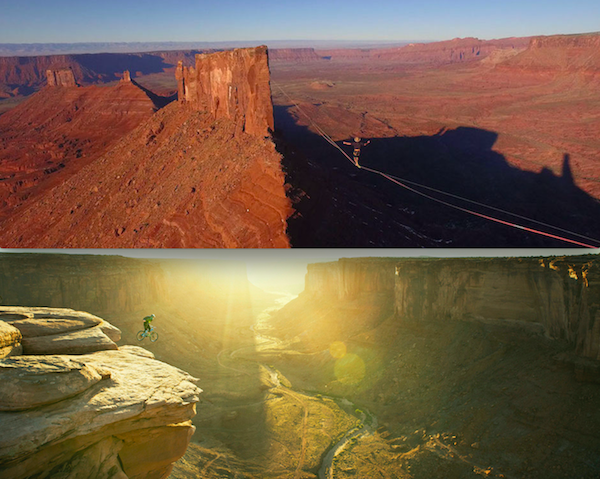 Death-defying acts as seen in the documentary Mountain (Photos: Greenwich Entertainment)