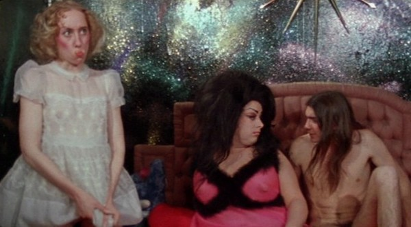 Mink Stole, Divine and Michael Potter in Female Trouble (Photo: Criterion)