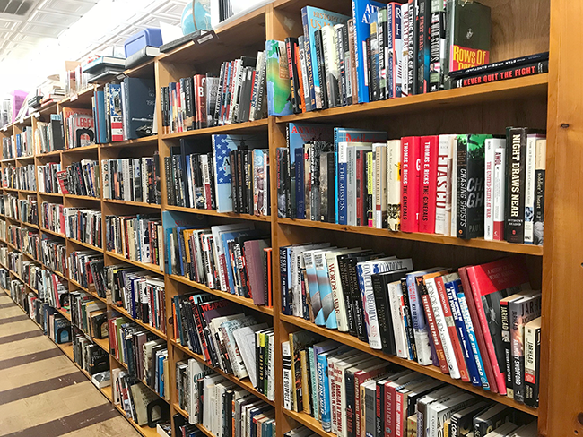 Book Buyers' expansive selection of books. (Photo by Pat Moran)