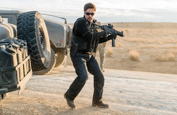Benicio Del Toro in Sicario: Day of the Soldado (Photo: Columbia)