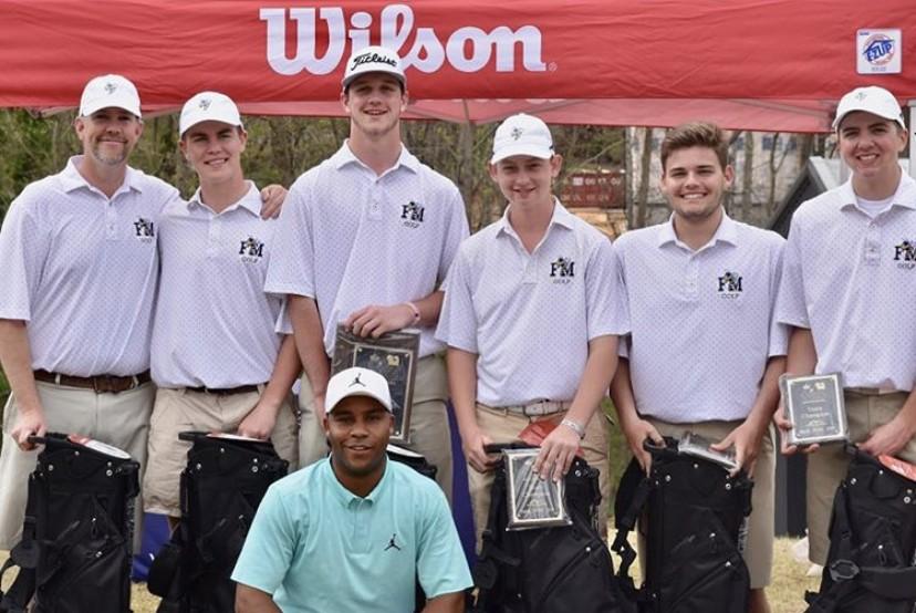 2019 HV3 Invitational Champions - Fort Mill High School Golf Team