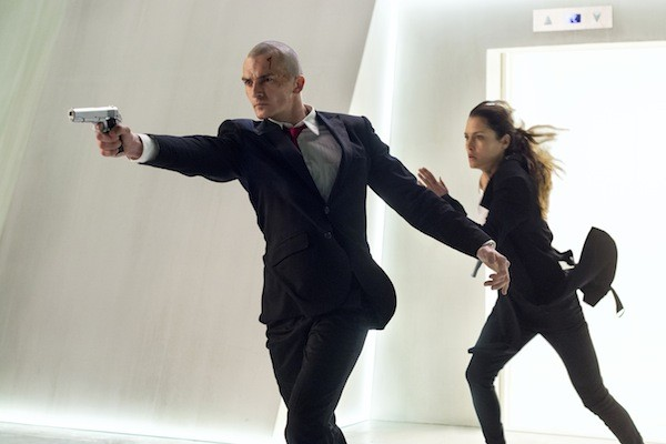 Rupert Friend and Hannah Ware in Hitman: Agent 47 (Photo: Fox)