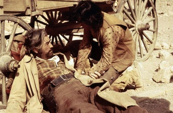 Gregory Peck and Desi Arnaz Jr. in Billy Two Hats (Photo: Kino)